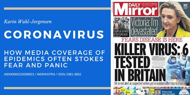 Coronavirus: How Media Coverage of Epidemics Often Stokes Fear and Panic