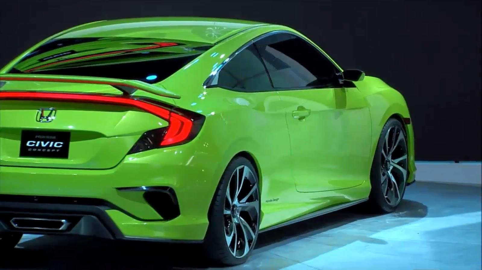 New Honda Civic Concept Previews Quot Epic Quot 2016 Production