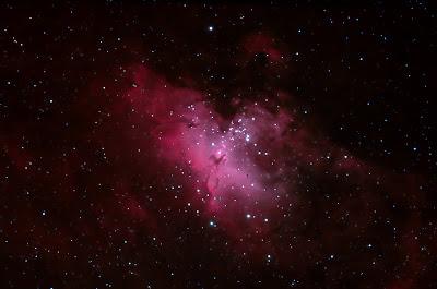 M 16, nebulosa de l'Àliga