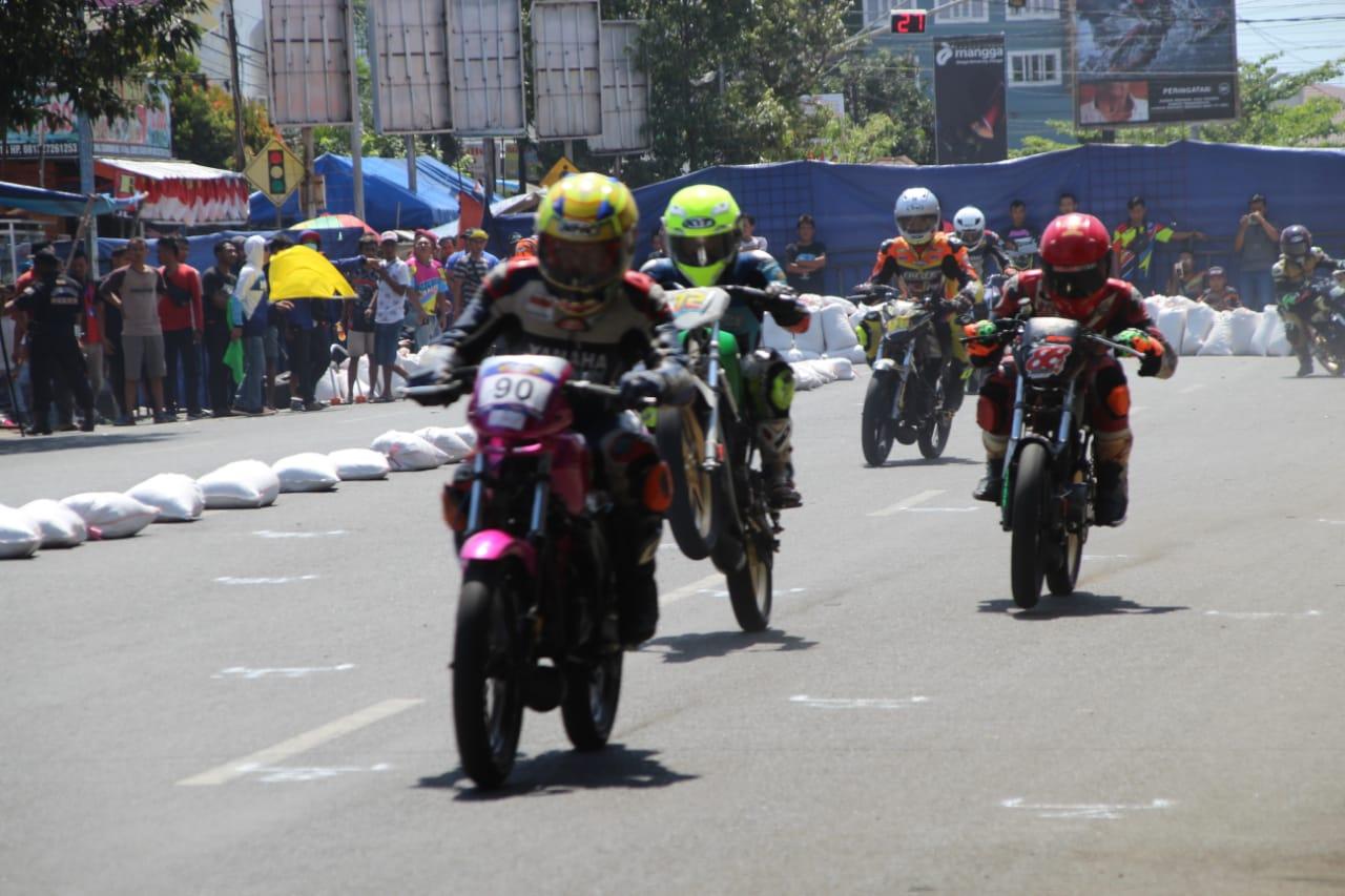 Dandim Cilacap Cup Open Roadrace 2019 Semarakkan HUT TNI Ke-74