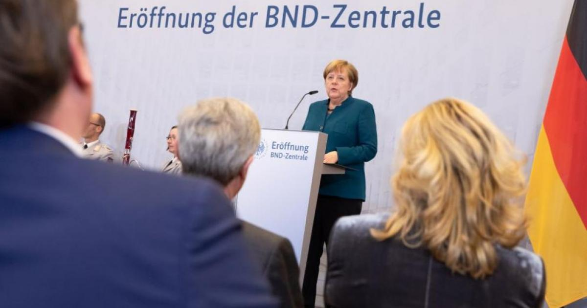 Germany Opens New Complex For Intelligence Service