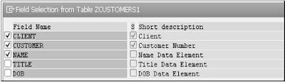 SAP ABAP - Views