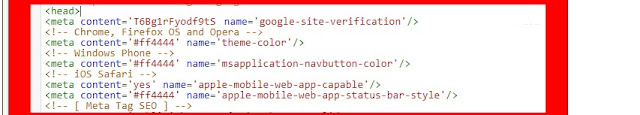 Cara Merubah Warna Address Bar Browser Mobile Mengikuti Warna Thema Blog