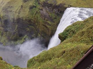 Cascada Skógafoss, Islandia, Iceland.