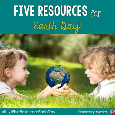 5 Resources for Earth Day - books, videos, freebies and resources to celebrate Earth Day in the primary classroom.