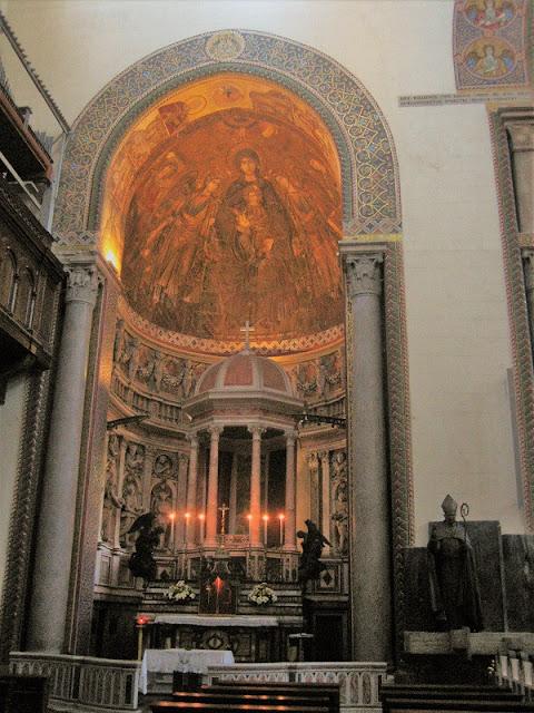 Capilla de la Madonna en la Catedral de Mesina