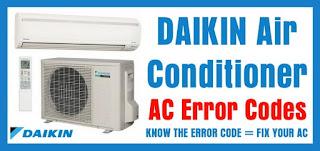 kode error ac daikin inverter