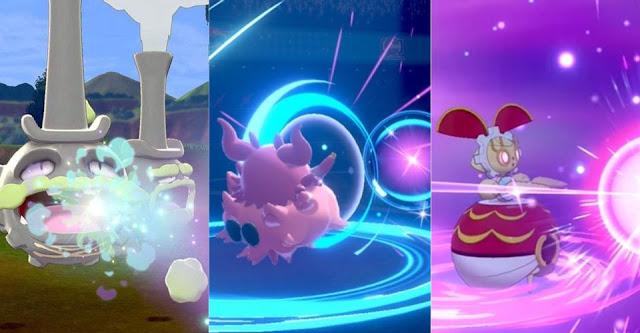 Best Strongest Fairy Type Pokemon Moves