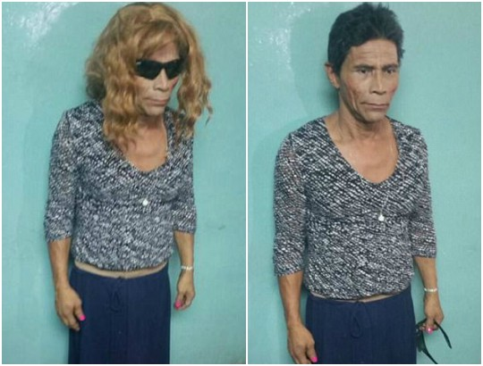 Murderer disguised as a woman caught while trying to escape jail (see Photos)