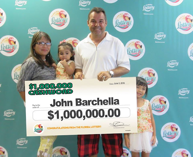 Palm Bay Man Wins Million Dollar Scratch-Off