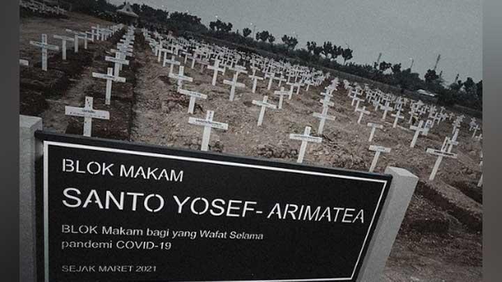Viral! Anies Baswedan Beri Nama Yosef Arimatea di Blok Kuburan Pasien Covid-19