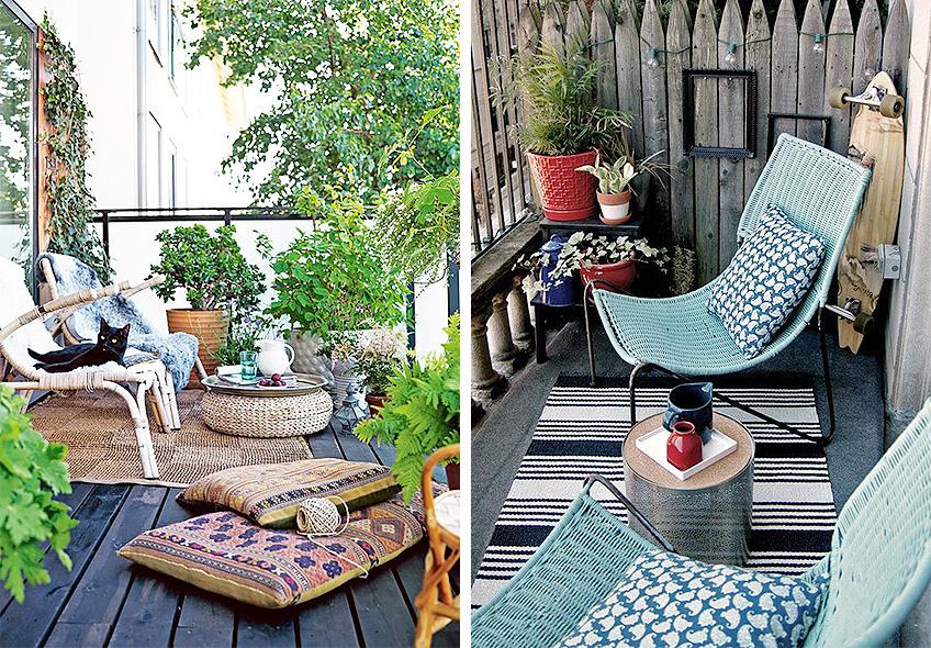 Trucos para una terraza perfecta meu canto blog - Hamacas para terraza ...