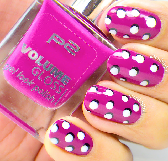 Pop Art Dotticure Nails