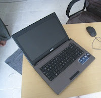 laptop bekas malang asus x44c