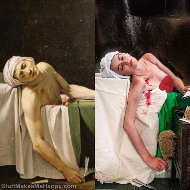 The Death of Marat (Jacques-Louis David)