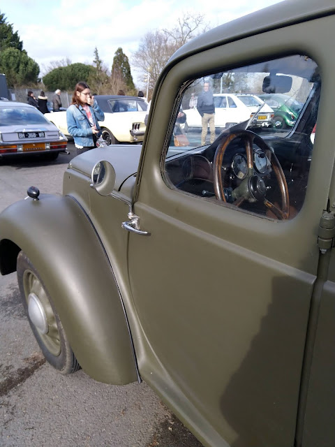 voiture ancienne Lancia Augusta