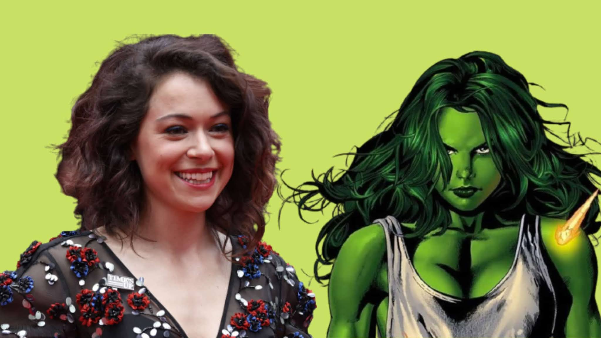 MCU's upcoming series She hulk now get the lead.Orphan Black actor Tatiana Maslany would play She Hulk in Disney+ new series She Hulk.