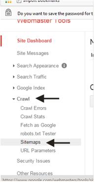 crawl dan sitemap