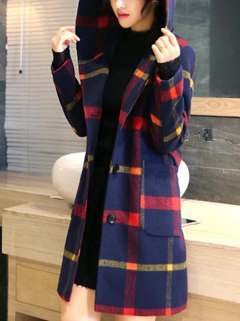 cappotto con cappuccio come abbinare il blazer outfit blazer how to wear blazer shopping on line tute fashion abbigliamento casual da casa mariafelicia magno fashion blogger colorblock by felym fashion blogger italiane blog di moda italian fashion bloggers