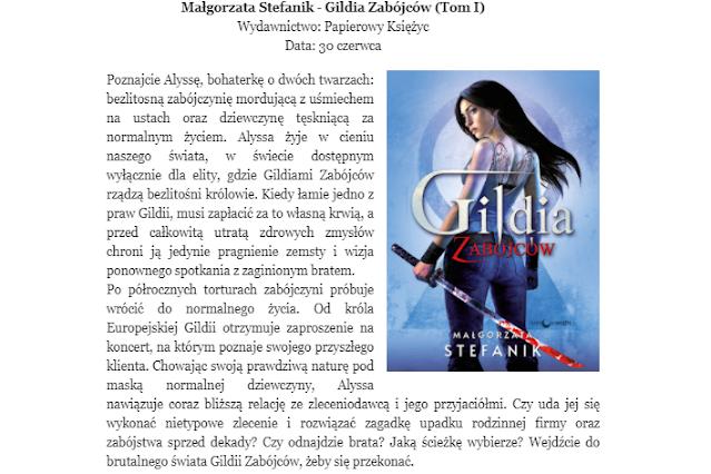 Gildia Zabójców - Małgorzata Stefanik