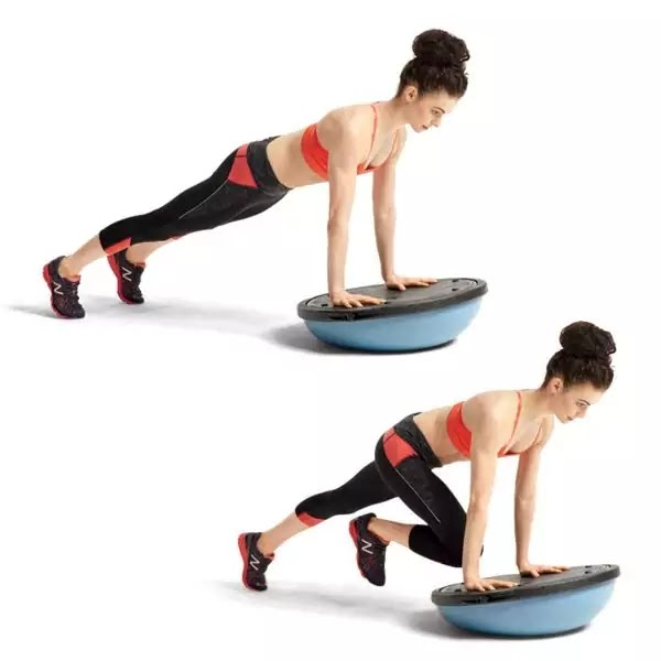 Workout That Will Shredded Your Entire Body - BOSU Ball