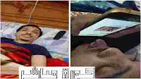 شاب مصاب بشلل رباعي يتصفح الانترنت بلسانه