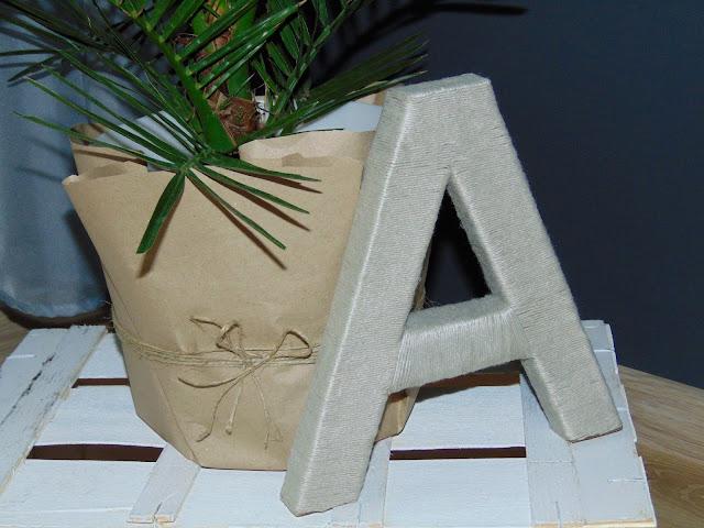 jak zrobić dekoracyjną literę