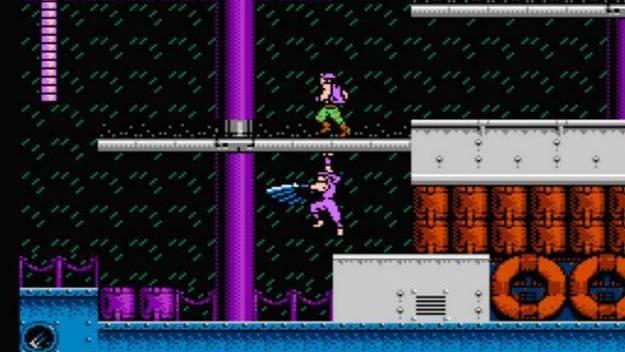 Blue Shadow - retro ninja games