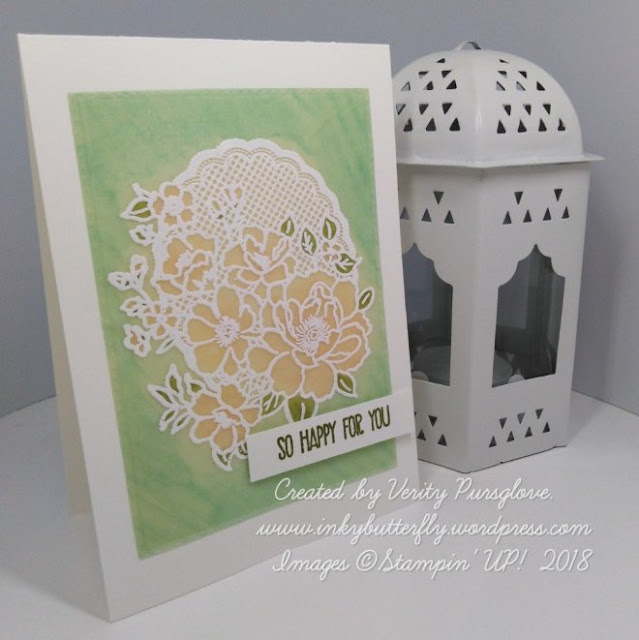 Lovely Lattice Saleabration Stampin' Up!