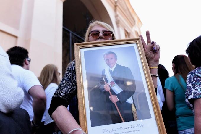 Misa y homenajes a De La Sota a un año de su fallecimiento