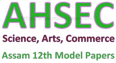 Assam 12th Model Papers 2019
