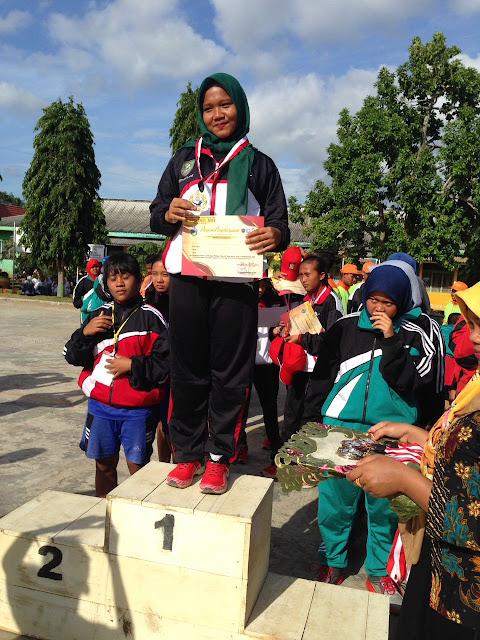 Para atlet Asahan yang meraih prestasi di Popdasu.