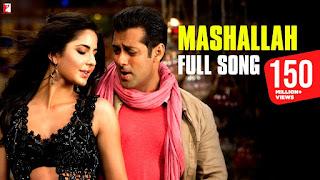 Chehra hai Mashallah Lyrics in Hindi from Ek Tha Tiger