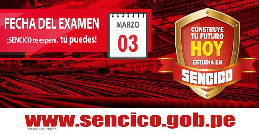 Resultados SENCICO 2019-1 (3 Marzo) Lista de Ingresantes Examen Admisión - Servicio Nacional de Capacitación para la Industria de la Construcción - www.sencico.gob.pe