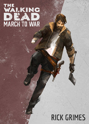the walking dead march to war rick grimes