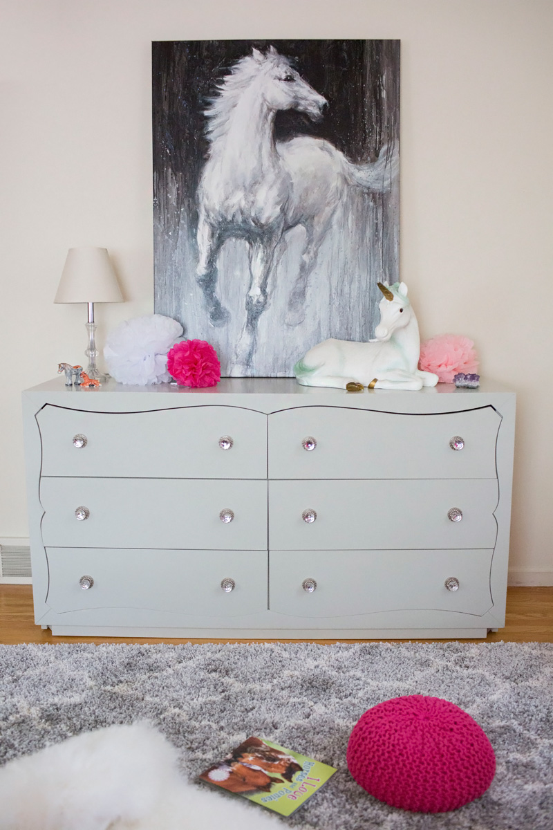 I Found A Huge Statement Piece That I Knew She Would Love. When The Slate  Horse Canvas Wall Art Arrived She Couldnu0027t Believe It.