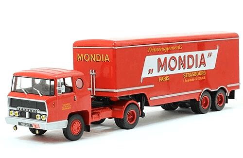 coleccion camiones articulados, camiones articulados 1:43, Bernard TDA 160 35 camiones articulados