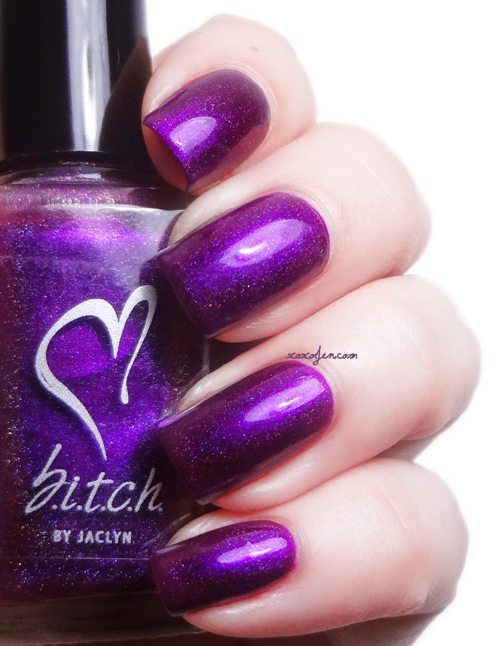 xoxoJen's swatch of b.i.t.c.h. by jaclyn Hottie