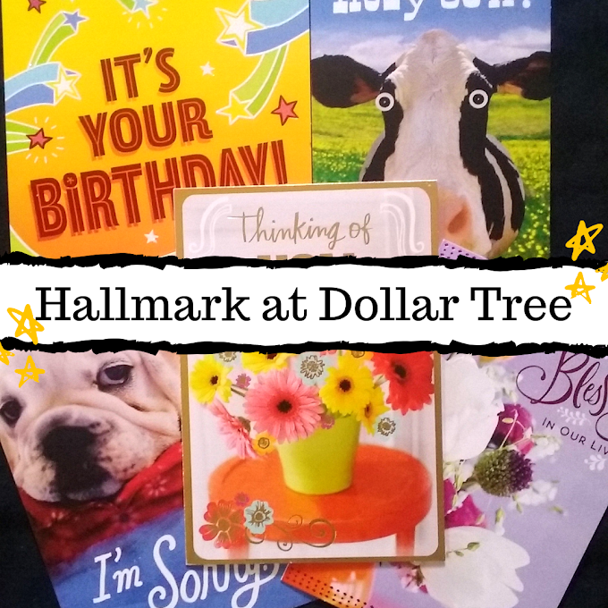 Hallmark Cards at Dollar Tree