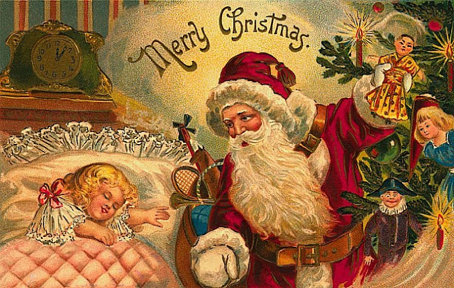 Merry Christmas santa clause images for Children