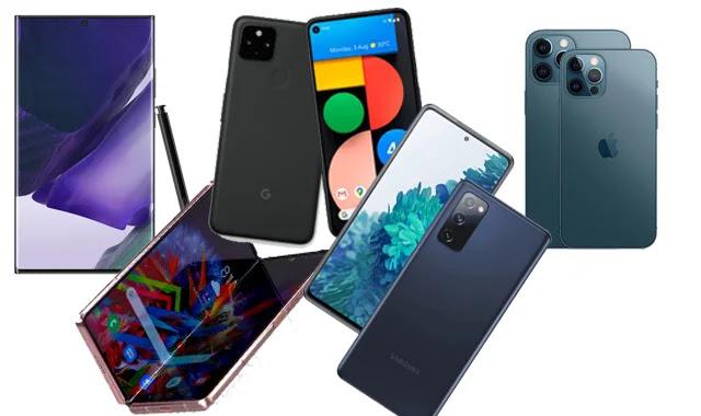 Quels sont les meilleurs téléphones 5G de 2020