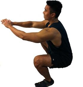 تمارين السكوات تساعد على بناء العضلات