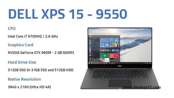 مراجعة لاب توب Dell XPS 15 - 9550