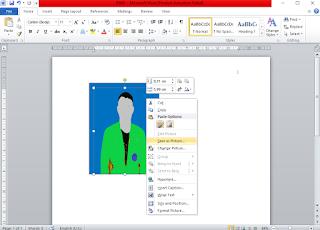 Cara Mengubah Background Foto Merah Menjadi Biru di Laptop