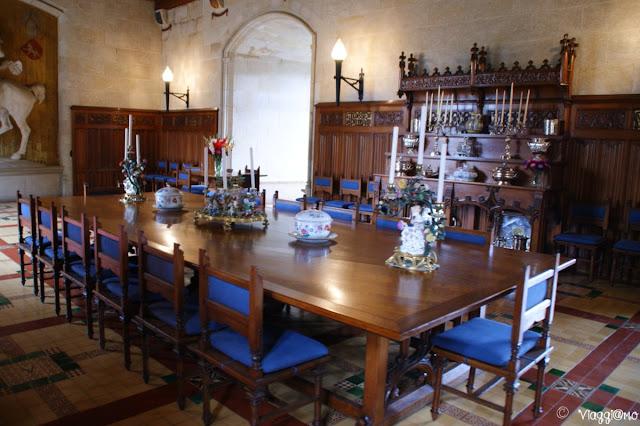 Interni del castello di Josselin