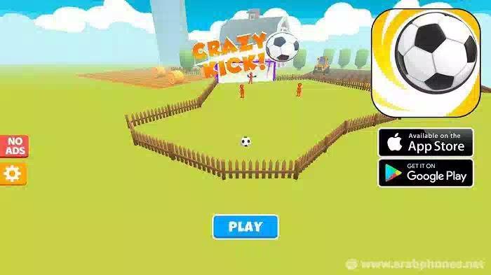 تحميل لعبة Crazy Kick مهكرة للاندرويد و الايفون مجانا