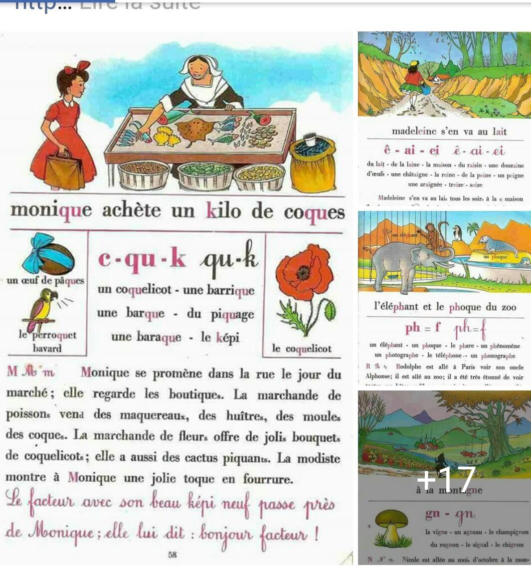 لغة فرنسية:بعض النصوص لتدريب تلاميذتكم على الاملاء واتقان قراءة النصوص