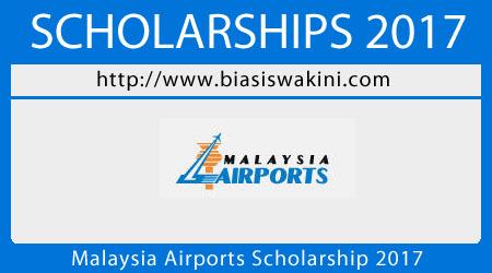 Malaysia Airports Scholarship 2017