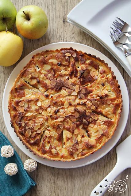 Tarte aux Pommes et Amandes Degustabox Degsuta Box Juillet 2019 Recette facile rapide pas chère