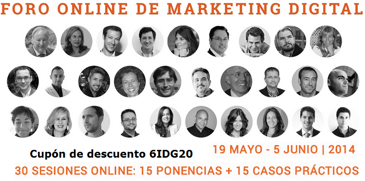 Foro Online de Marketing Digital 2014 #FOMD